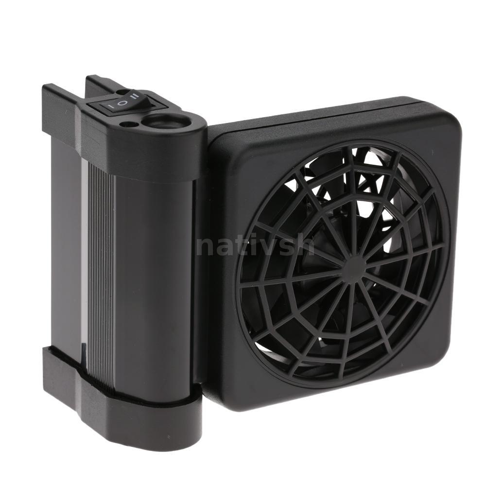Aquarium fish tank cooling fan - Aquarium Cooling Fan Fish Tank Cold Wind Chiller 2 Level Adjustable Hot